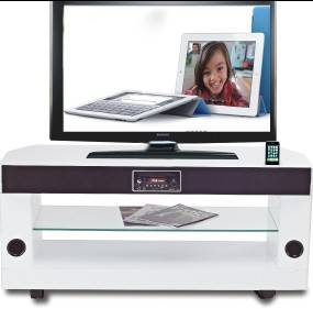 Speaker TV stand with built speaker home theatre system all-in-one