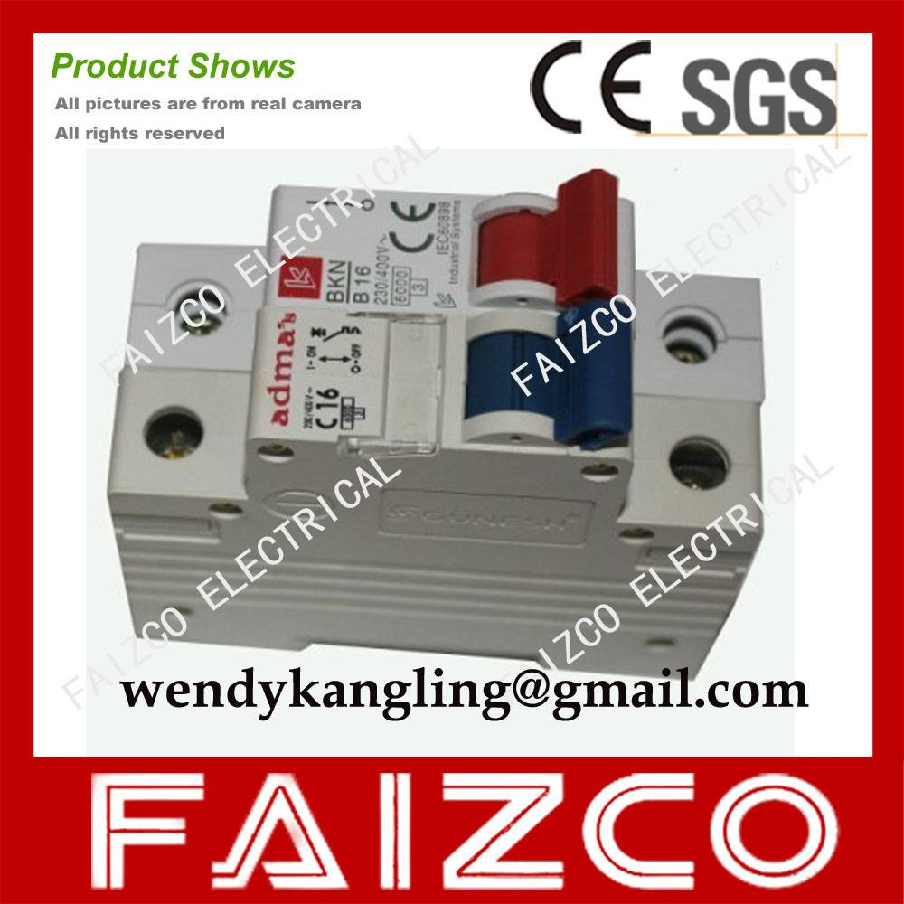 Admas Mcb Gunesh Mini Circuit Breaker Yueqing Kangling Electric House China High Quality