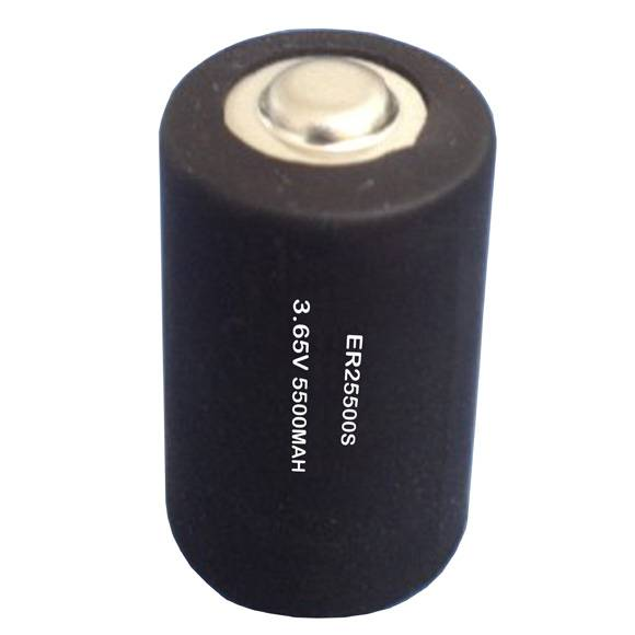 ER25500S-150'C 5500mAh 3.6V high temperature LiSOCL2 battery