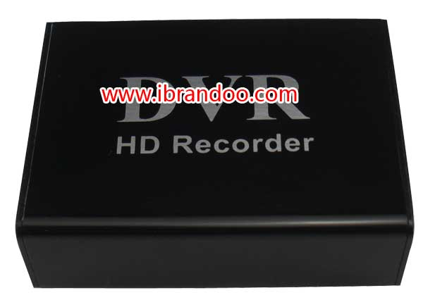 Black housing 1 channel SD DVR