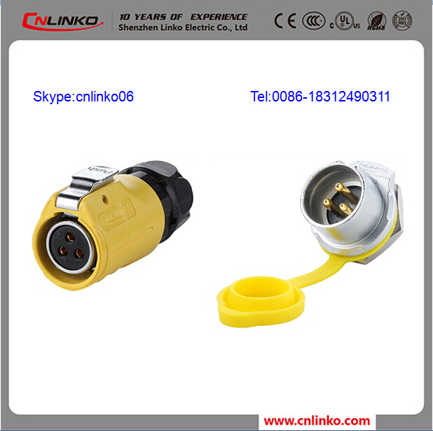 Plug and Socket Outlet IP65 3 Pin Socket Connector, IP65 Socket Waterproof
