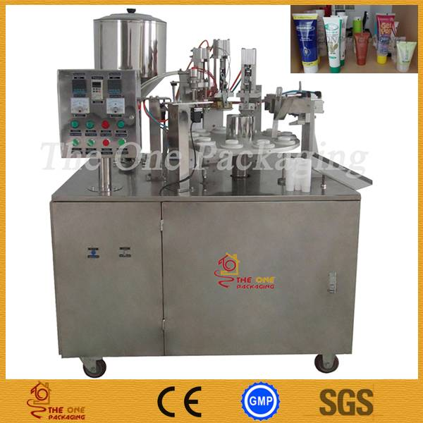 Semi-Automatic Plastic Tube Filling and Sealing Machine