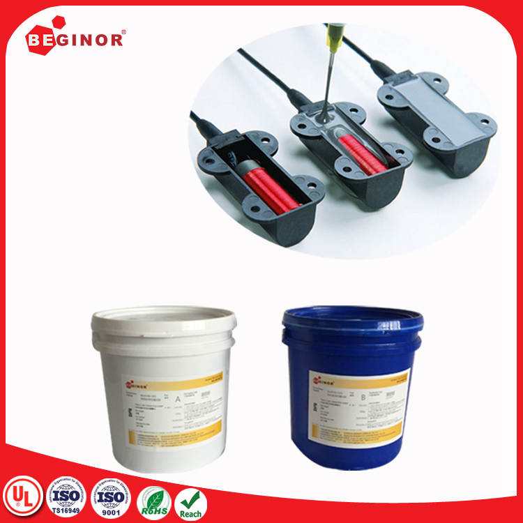 thermal conductive potting low viscosity silicone adhesive chemical resistance