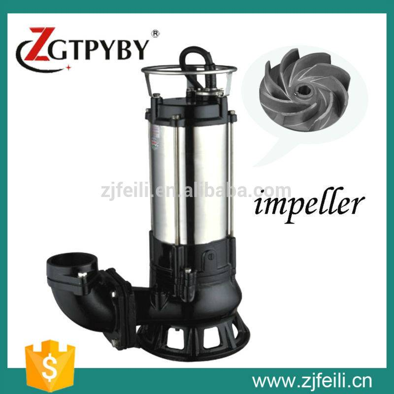 2015 new product submersible pump manufacturer with vortex impeller