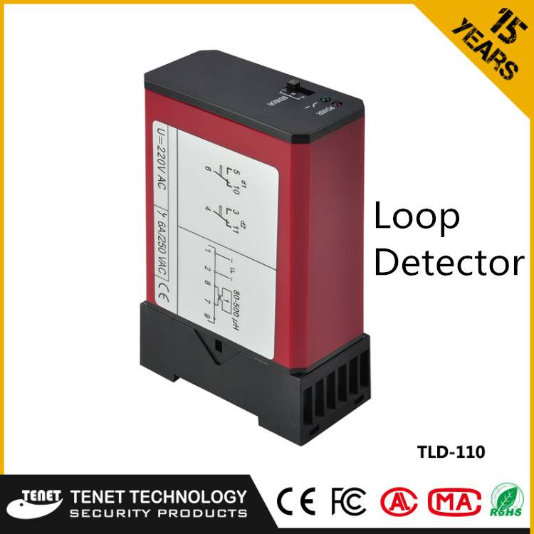 TLD-110 Single Channel Vehicle Loop Detector For Parking Access Control