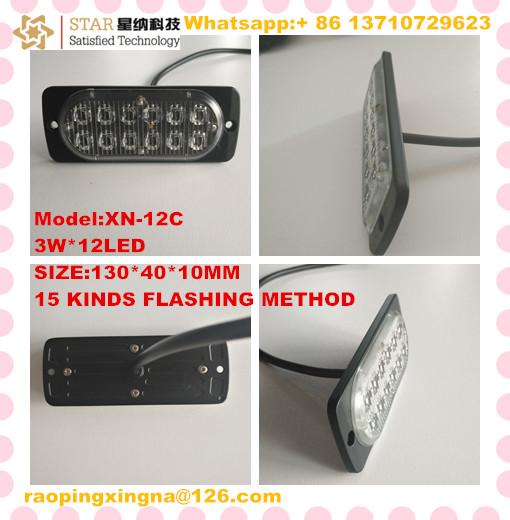 130CM 36w motorcycle/truck/ambulance strobe led light for truck Side lamp