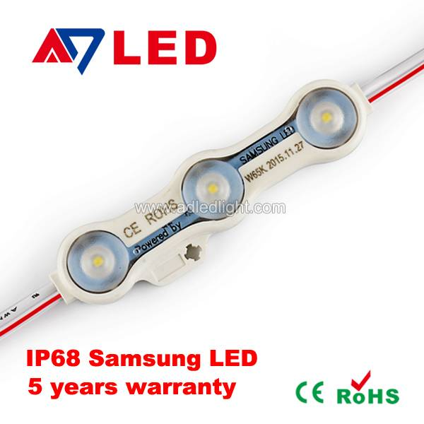 new arrival samsung led module IP68 for illuminated signs