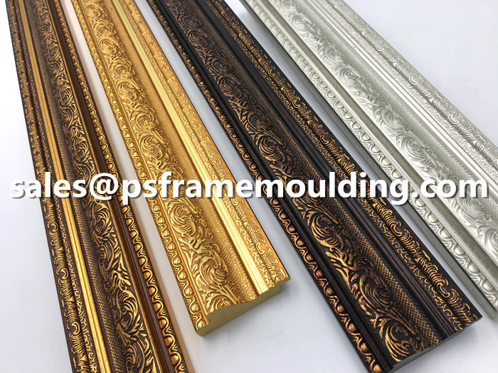 plastic PS mirror frame mouldings