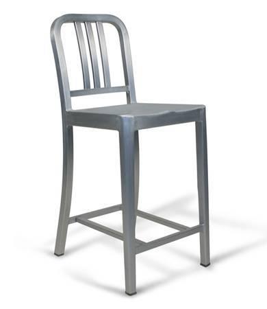 Emeco navy stool