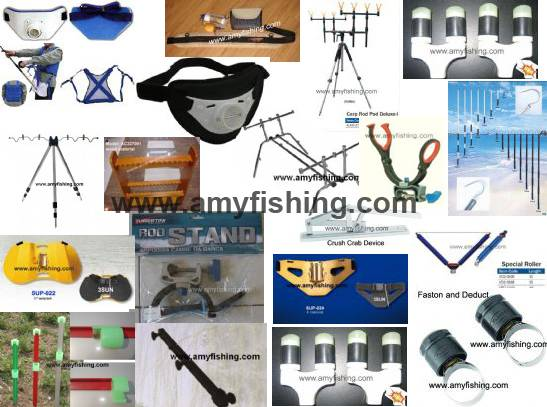 fishing rod holder, rod rack, rod support, fishing belt