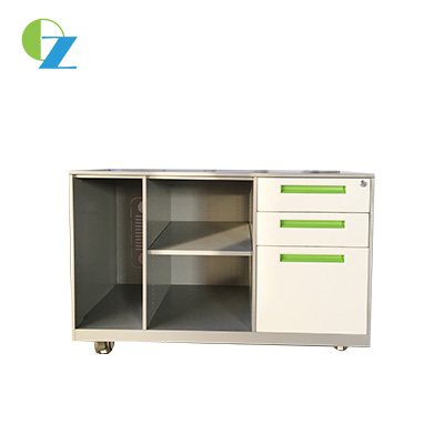 3 Drawers Steel Mobile Caddy, Storage office mobile cabinet for any work station