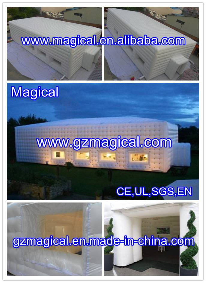 Inflatable Cube Tents for Trade Show/Party/Wedding