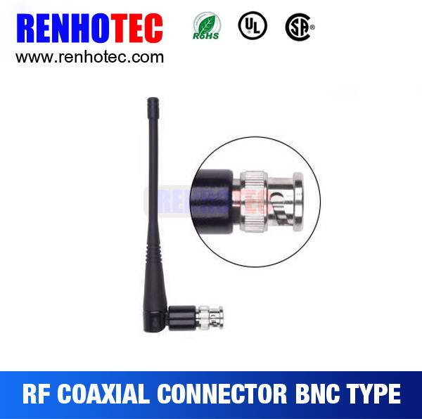 BNC Plug Coaxial Connectors RF Electronic Connectors Radio Antenna