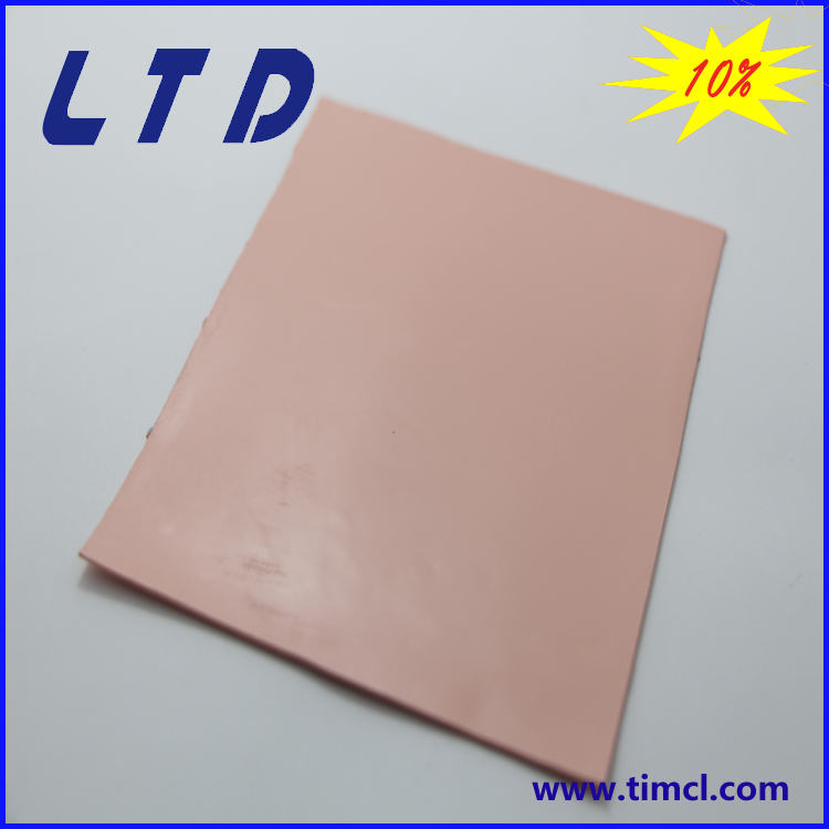 high quality PC thermal pads thermal conductive pad cooling pad for LED PCB CPU GPU