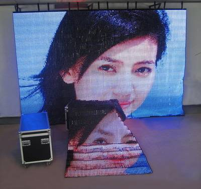 FLC-2500,p20mm,Soft LED curtain display screen by MSN:huasunledsales@hotmail.com