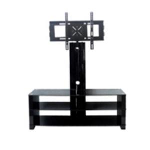 square design glass tv stand