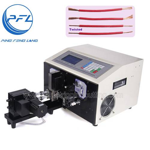 Automatic Computer Wire Stripping & Twisting & Cutting Machine/Wire Twister/Wire Stripper PFL-06