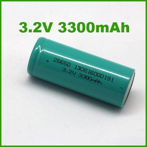 26650 3.2V 3300mAh lifepo4 Cylindrical li-ion Batteries