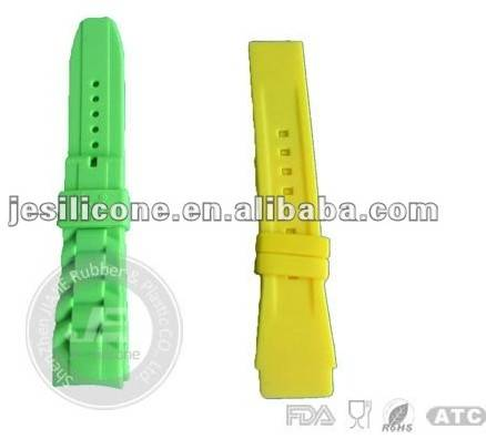 Silicone slap band watch , rubber watch strap ,geneva jelly sport watches ,price ,manufacture