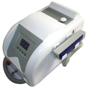 Highest energy laser tattoo removal machine