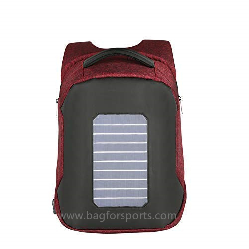 Solar Backpack Waterproof and Anti-Theft, perfect for carrying books or laptop to work, school or hi