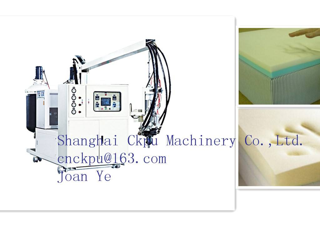 PU Mattress Foaming Machine