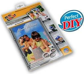 DIY inkjet 8:5 photo paper album (with free software supported)