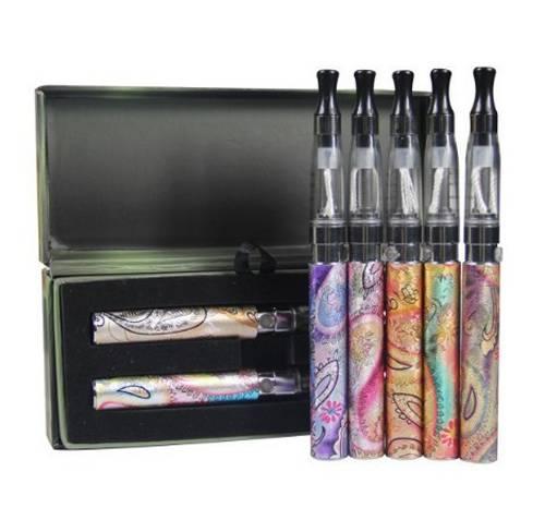 No burning smell colorful ego-q e-cigarette