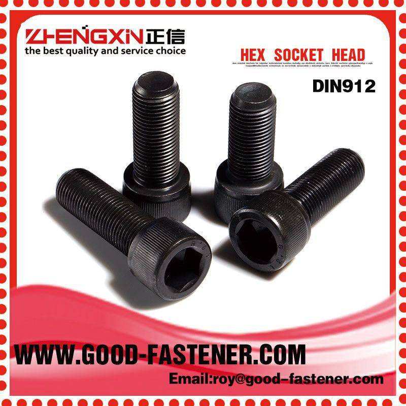 High quality DIN912 Hex socket head