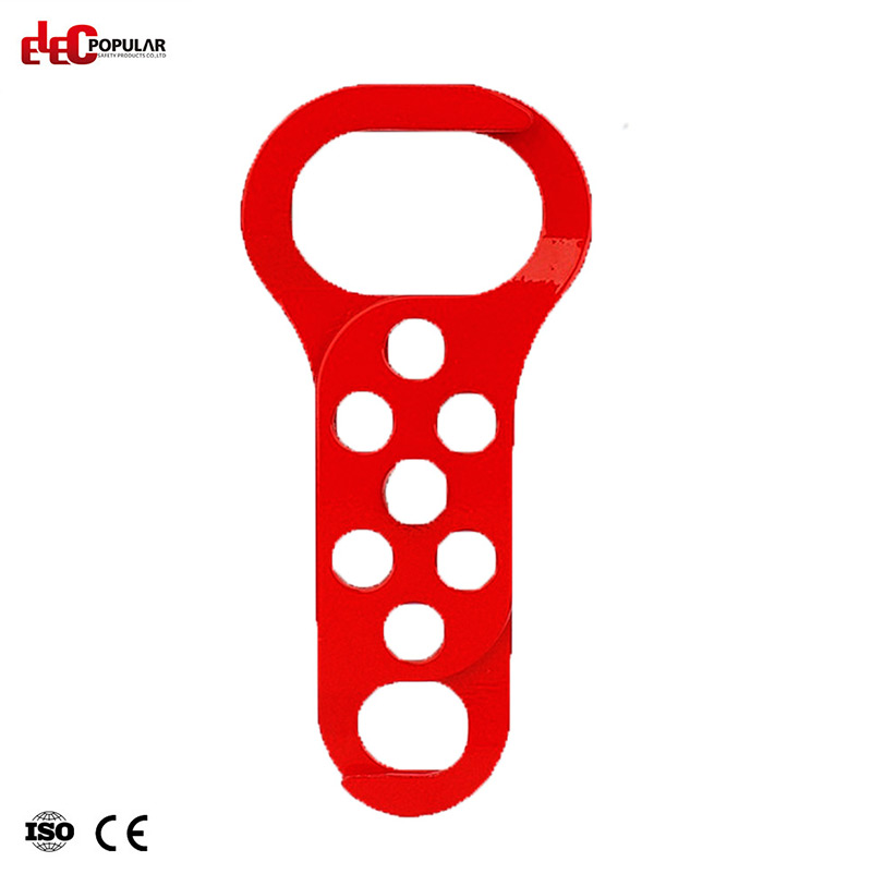 Six Holes Steel Hasp Lockout EP-8320   Lockout Hasps  Steel Lockout Hasps