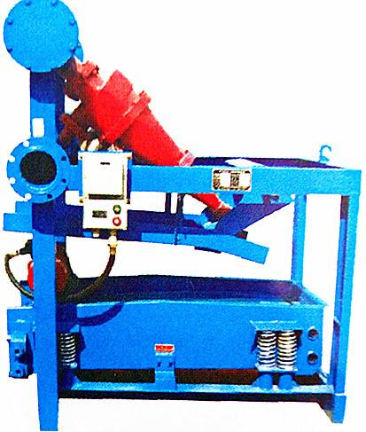 Oil drilling mud solids control mud desander