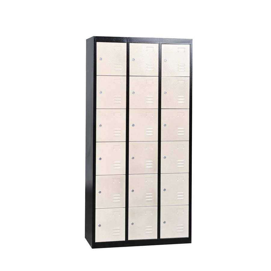 18 Door Metal Storage Cabinet