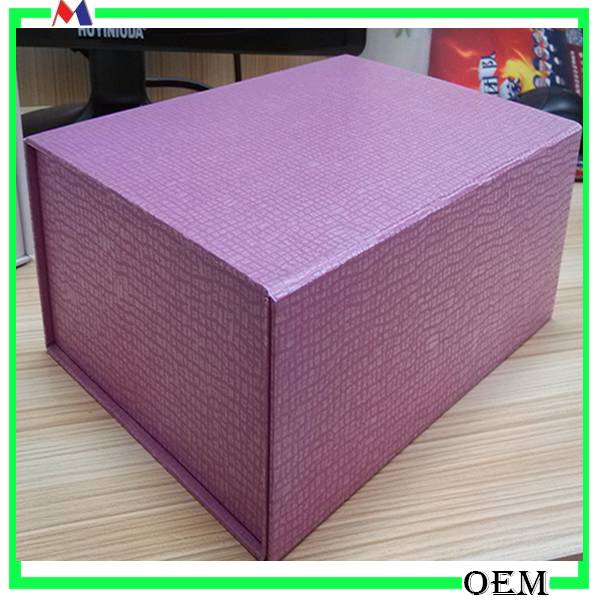 Foldable Paper Gift Package Box