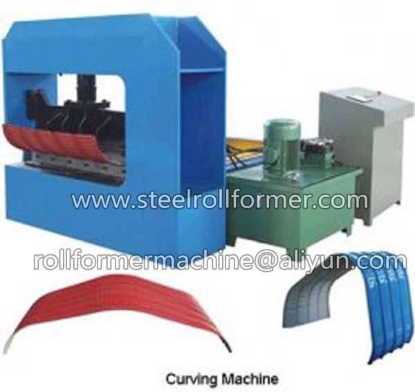metal sheet crimp machine