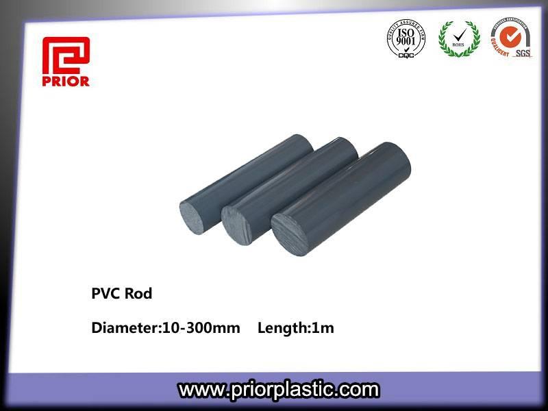 Grey PVC Rod