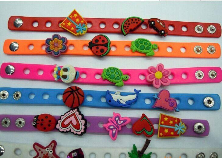 rubber, silicone wristband