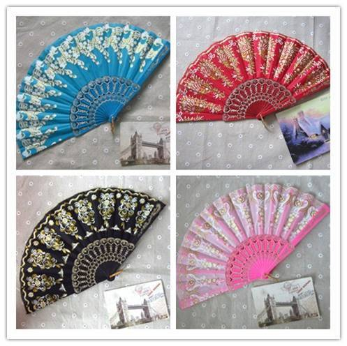 plastic fan for wedding or party or other events