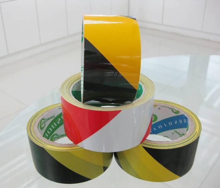 Adhesive PVC Warning Tape Floor Marking Tape 5cm width