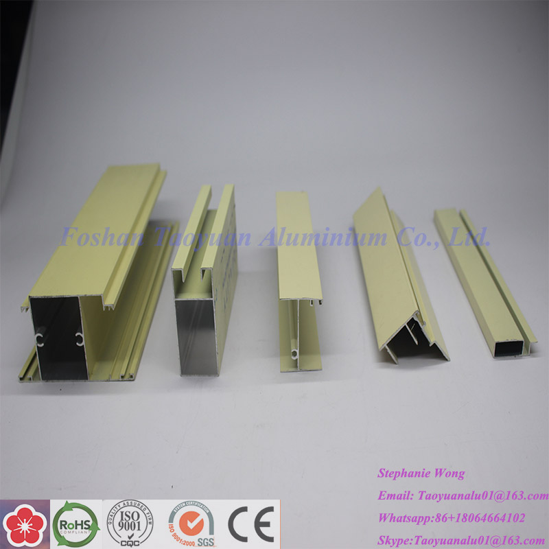 Aluminium Glass Window and Door Frames Profiles