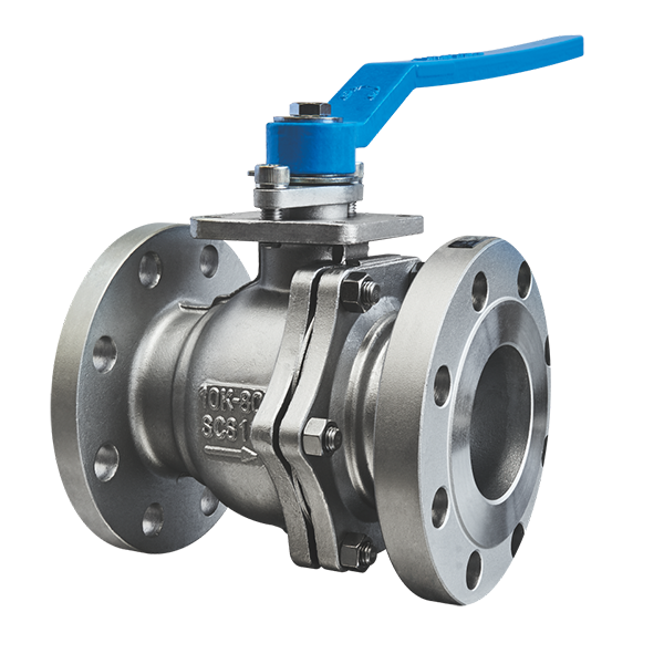JIS 10K 80A SCS13 atainless steel flanged ball valve