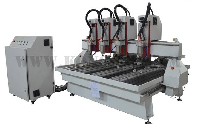 4 spindles cnc router machine 1325-4R