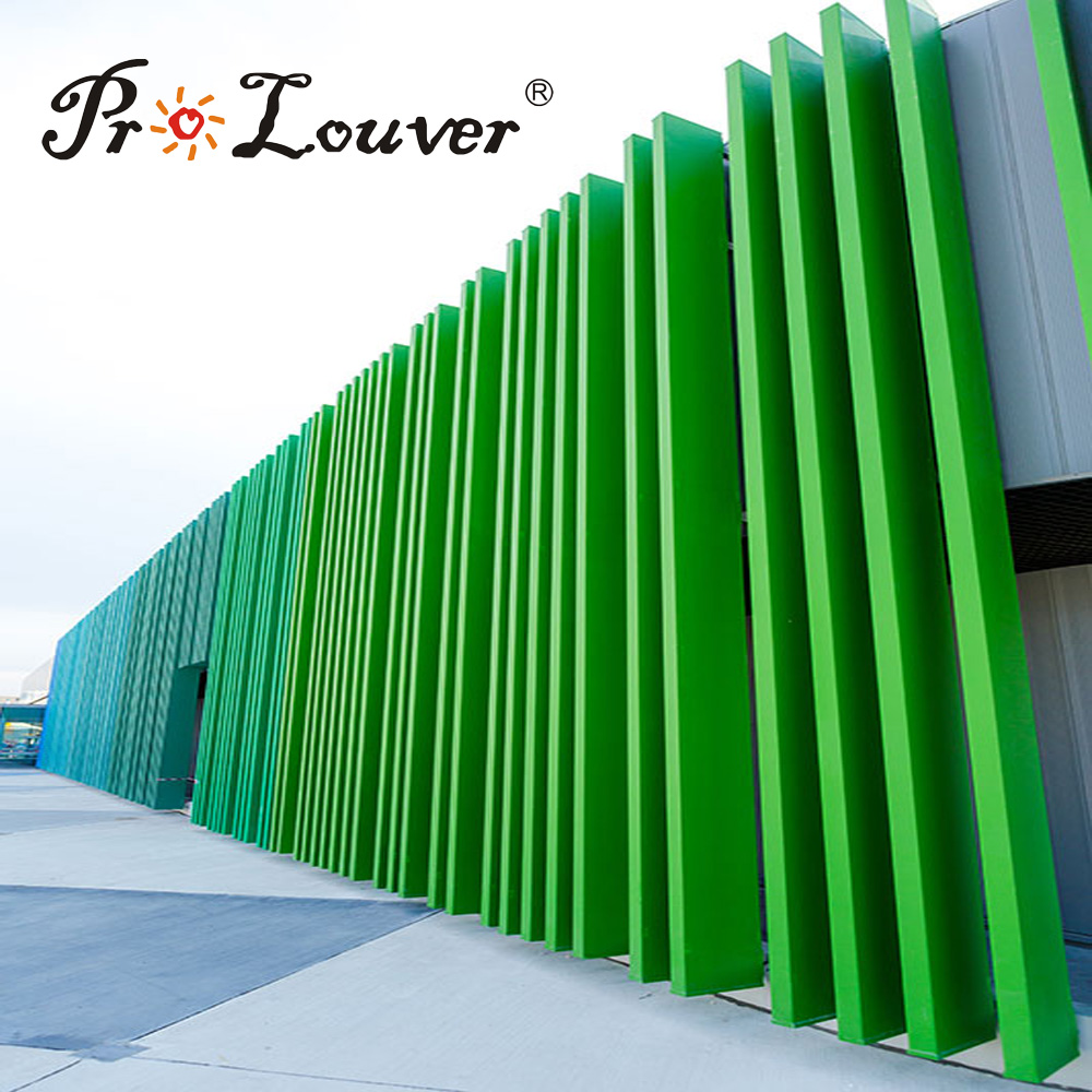 Manufacture architectural BOX Louver used for aluminium decoration,aluminium louver