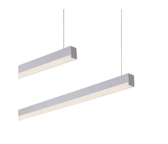 IP20 LED linear lights led pendant lighting in high quality extruded aluminum alloylow luminous