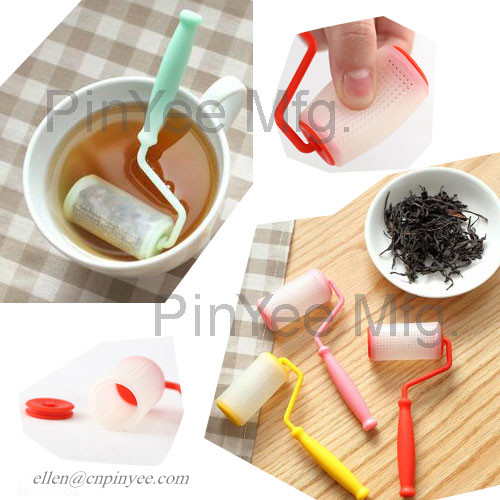 paint roller tea infuser