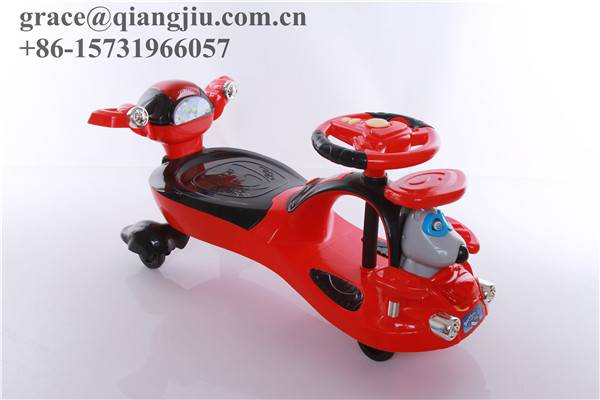FLICKER SWING CAR RIDE ON SWIVEL SCOOTER WIGGLE GYRO TWIST GO KIDS RIDE-ON CAR/qiangjiu bicycle grou