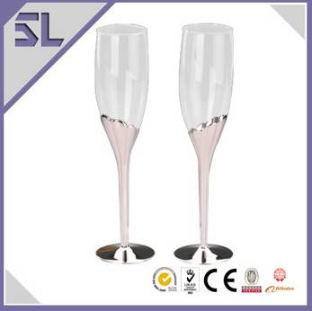 Popular Best Quality Hand Blown Champagne Glasses