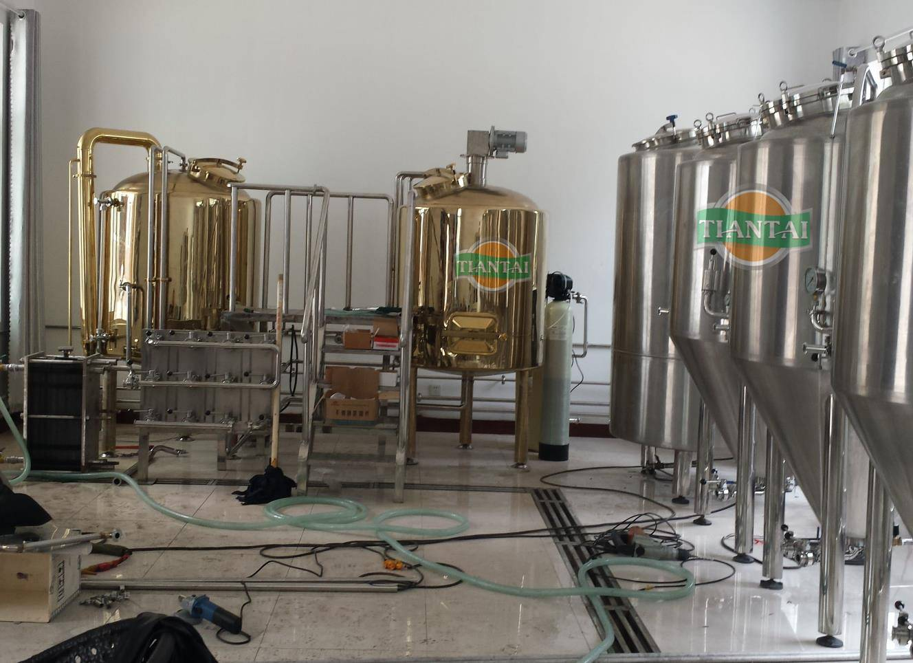 500L beer brewing equipment for craft beer