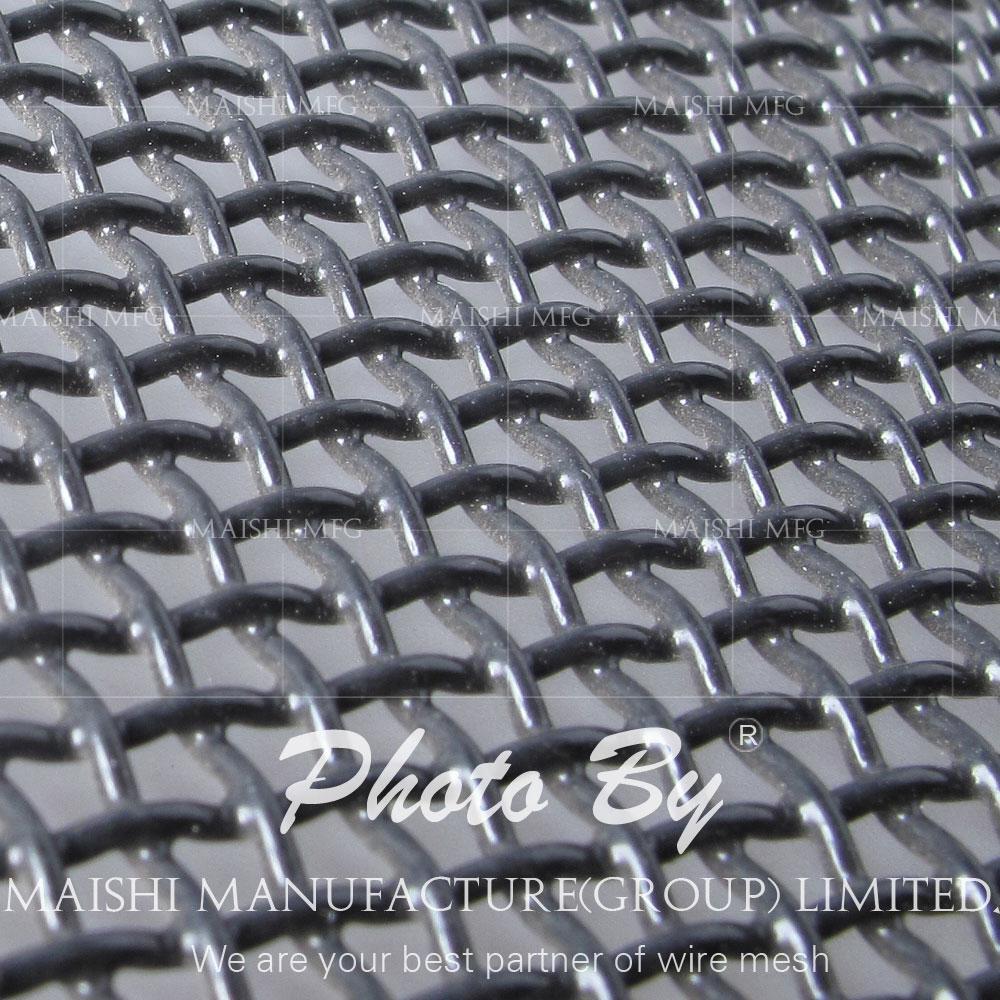 powder coated black 316 security mesh