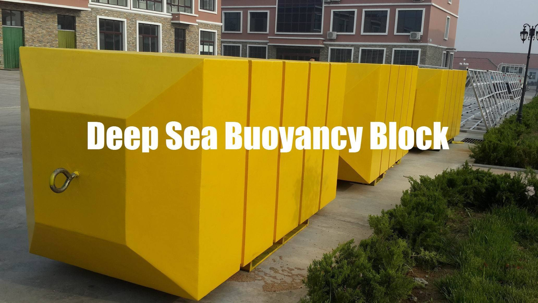 Subsea Buoy, Deep Sea & Deep Water Buoyancy Block.