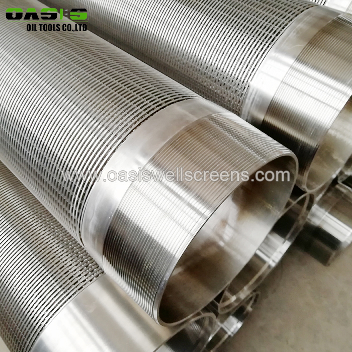 Good Quality Wire Wrapped Well Screen for Water Filter